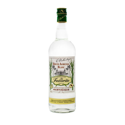 La Favorite Rhum Agricole Blanc L'Authentic